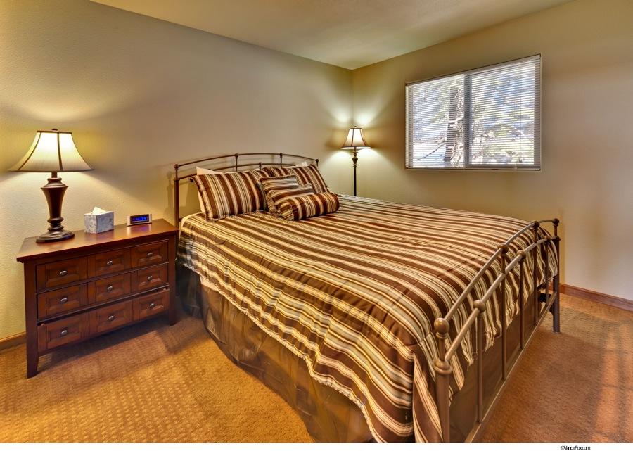 Lake Tahoe Vacation - Bedroom 1 - Heavenly Tahoe Condo