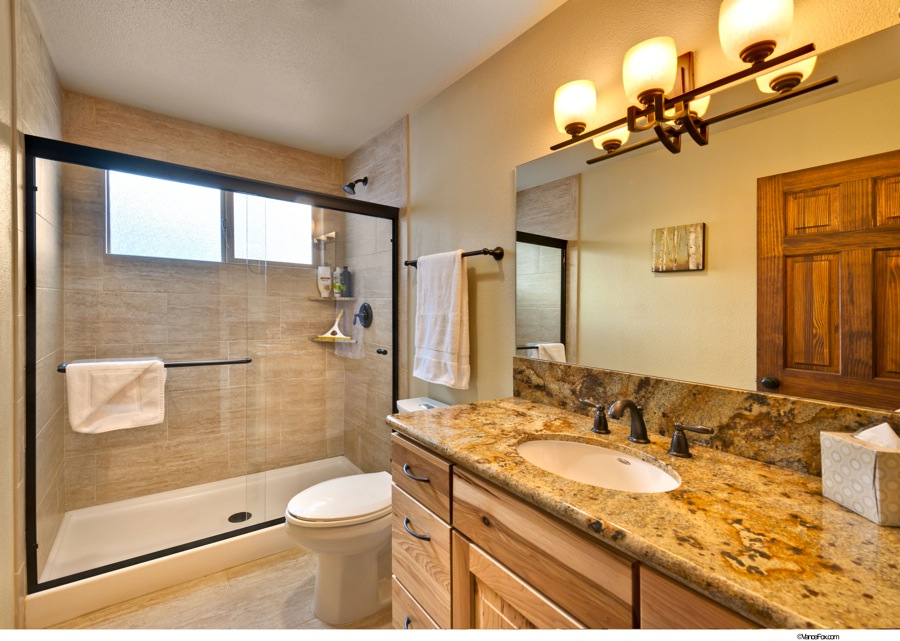 Lake Tahoe Vacation - Downstairs Bathroom - Heavenly Tahoe Condo