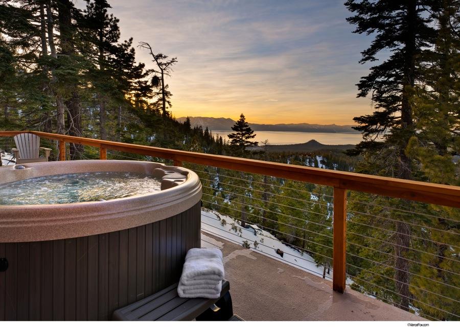 Lake Tahoe Vacation - Hot Tub and View - Heavenly Tahoe Condo