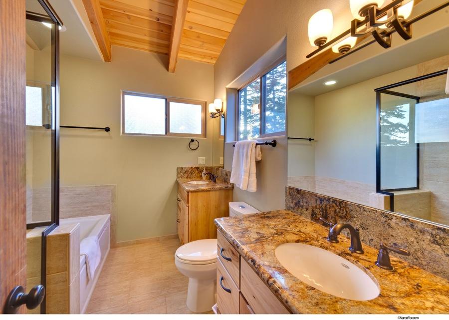 Lake Tahoe Vacation - Master Bathroom - Heavenly Tahoe Condo