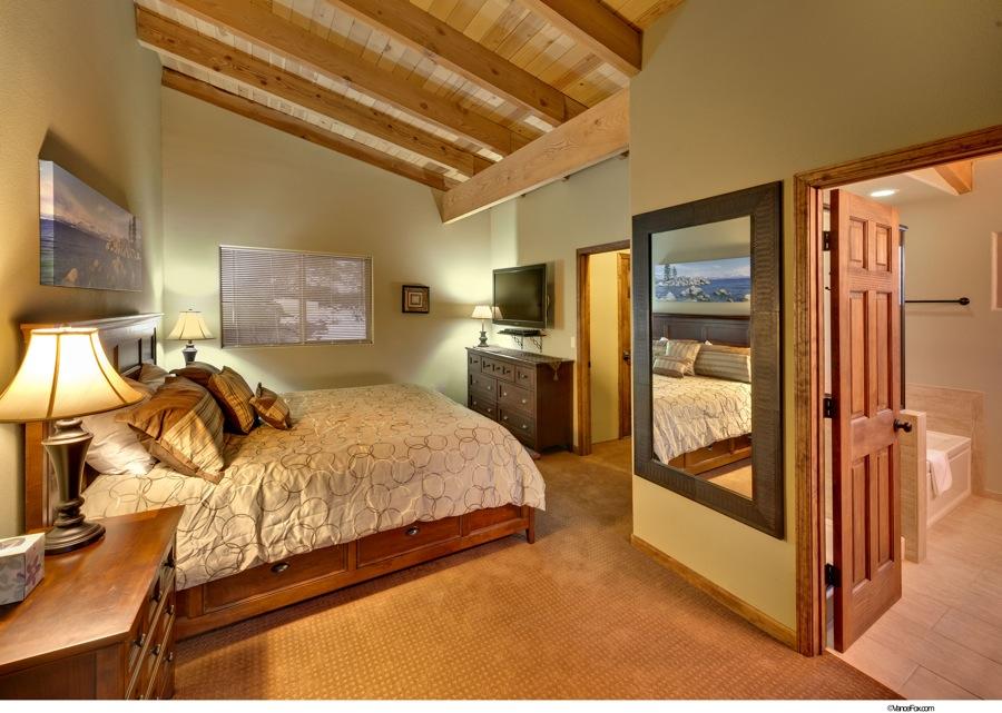 Lake Tahoe Vacation - Master Bedroom - Heavenly Tahoe Condo