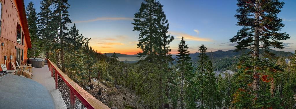 Lake Tahoe Vacation - Sunset at Lake Tahoe - Heavenly Tahoe Condo
